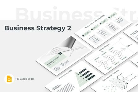 Business Models: Business Strategy Two Google Slides Presentation Template #08789