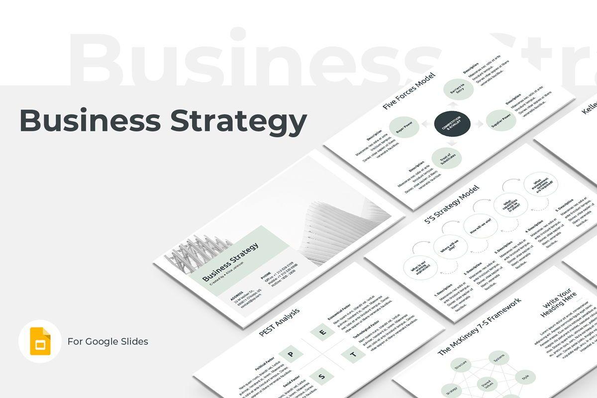 Business Strategy Google Slides Presentation Template, 08790, Business Models — PoweredTemplate.com