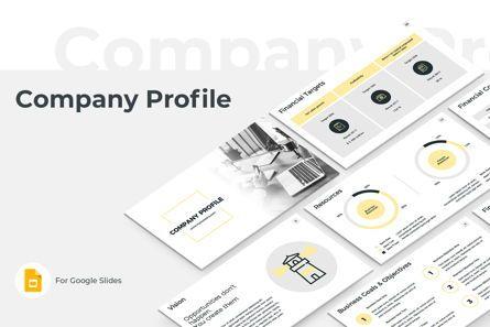 Business: Company Profile Google Slides Presentation Template #08791