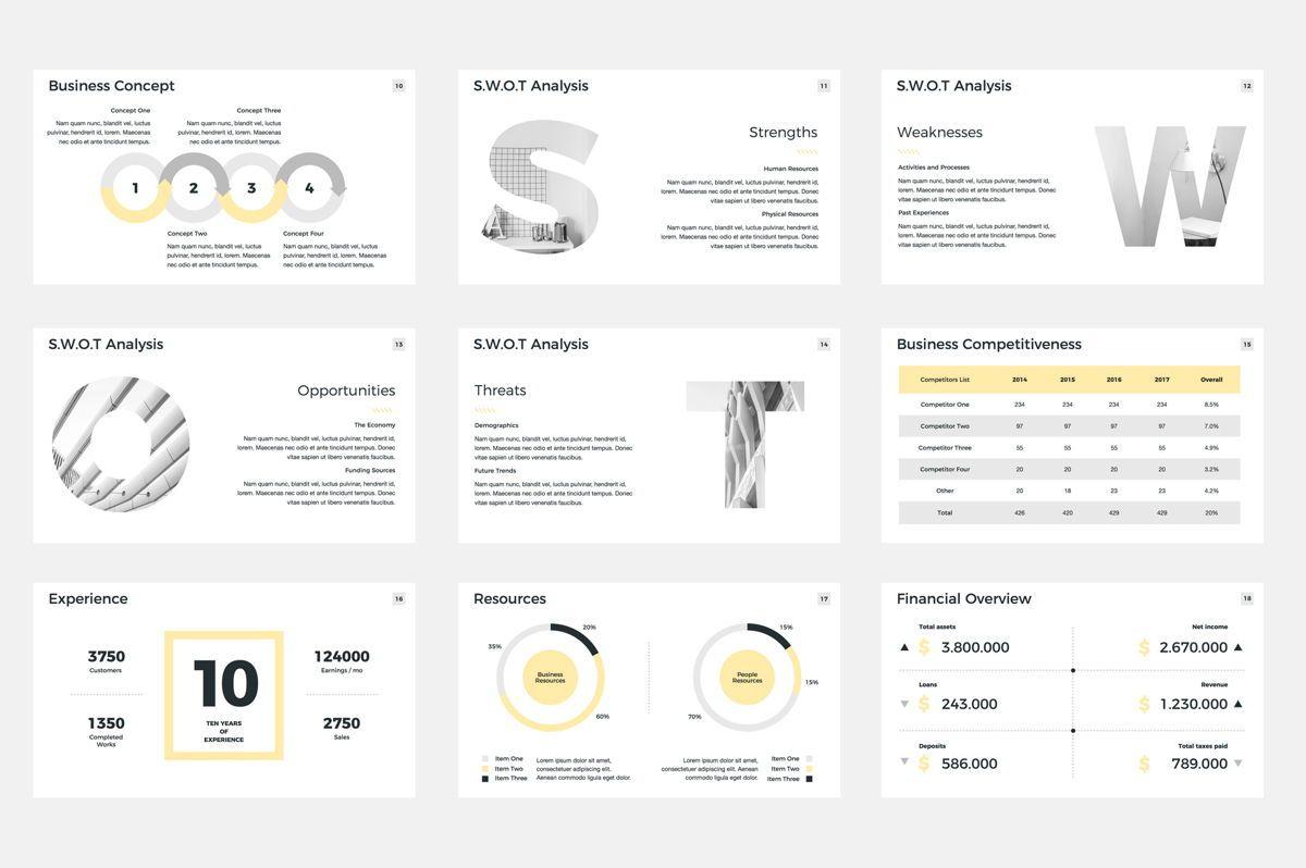 Company Profile Google Slides Presentation Template, Slide 3, 08791, Business — PoweredTemplate.com