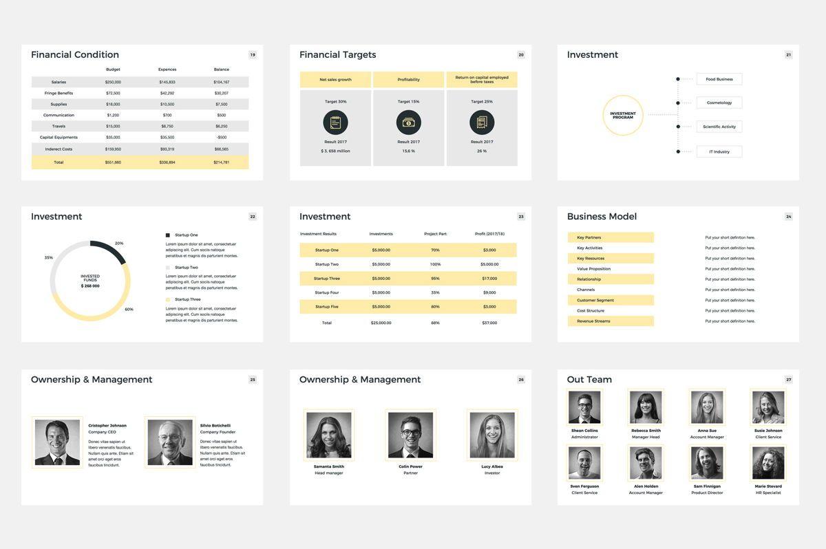 Company Profile Google Slides Presentation Template, Slide 4, 08791, Business — PoweredTemplate.com