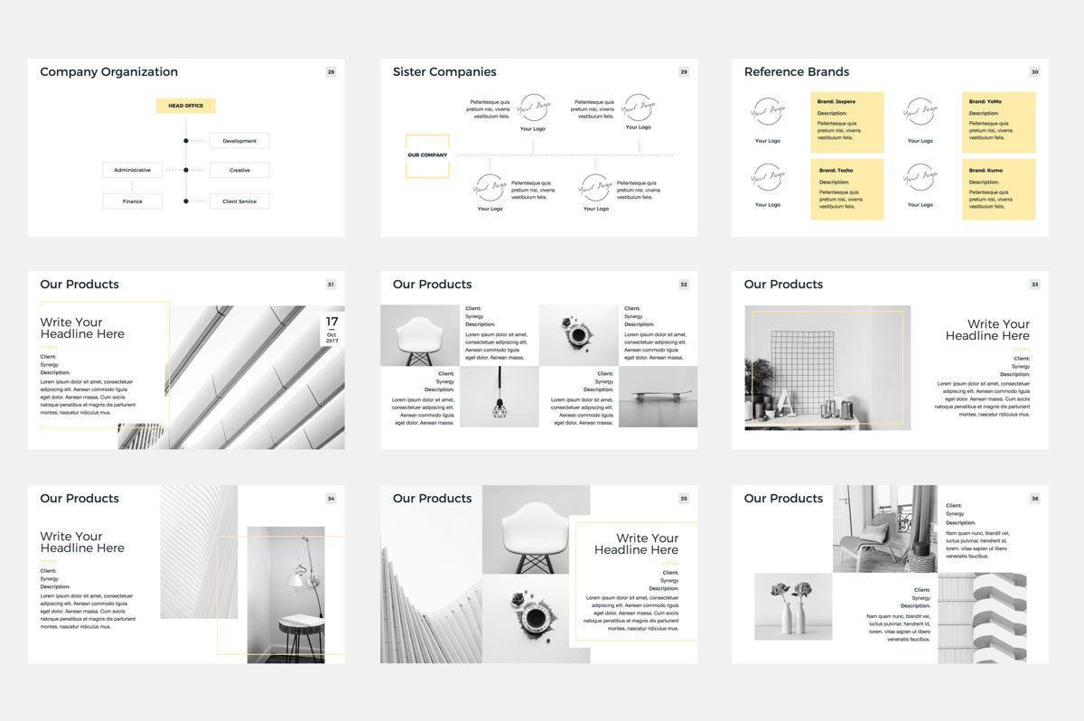 Company Profile Google Slides Presentation Template, Slide 5, 08791, Business — PoweredTemplate.com