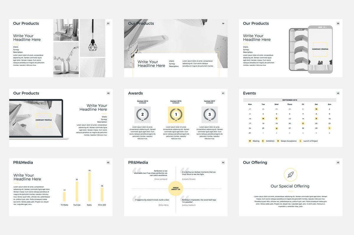Company Profile Google Slides Presentation Template, Slide 6, 08791, Business — PoweredTemplate.com