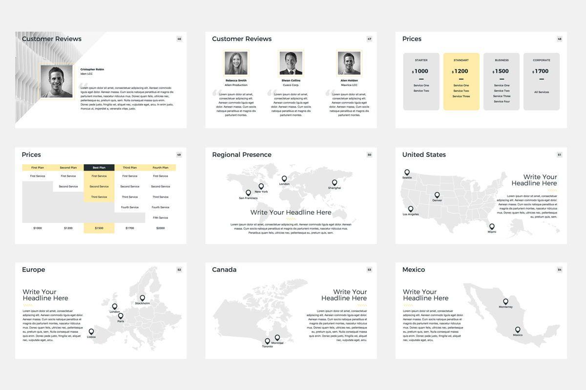 Company Profile Google Slides Presentation Template, Slide 7, 08791, Business — PoweredTemplate.com