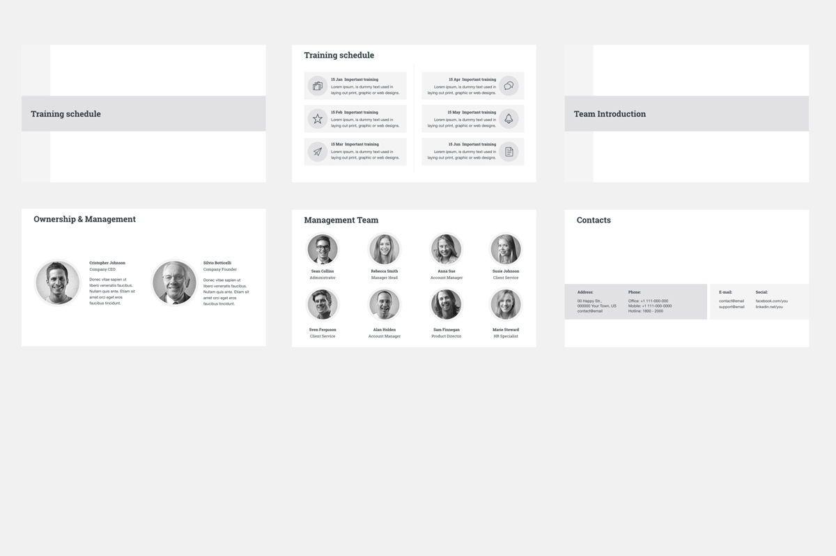 HR Human Resources Google Slides Presentation Template, Slide 6, 08792, Business — PoweredTemplate.com