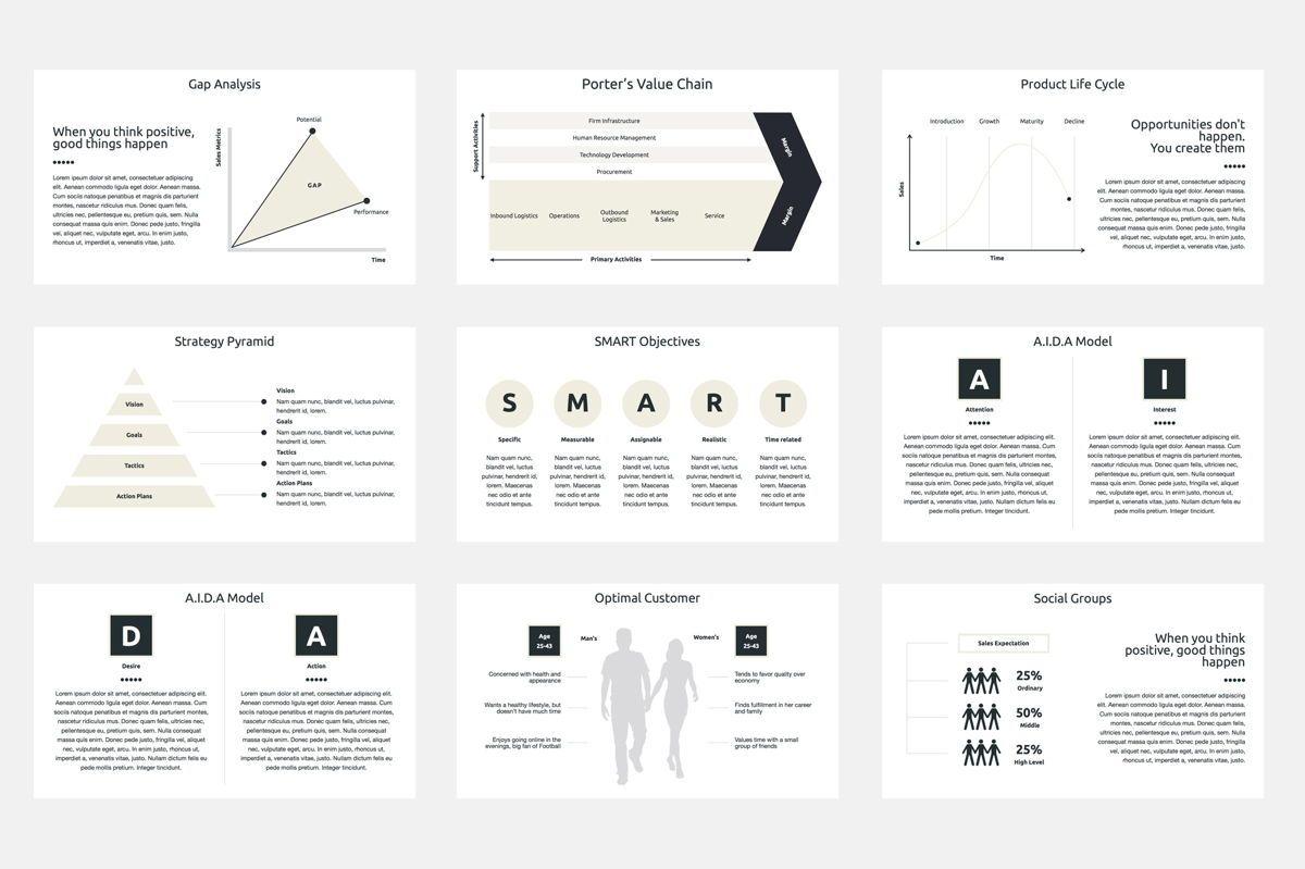 Marketing Plan Google Slides Presentation Template, Slide 6, 08793, Business — PoweredTemplate.com