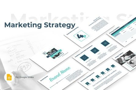 Business: Marketing Strategy Google Slides Presentation Template #08794