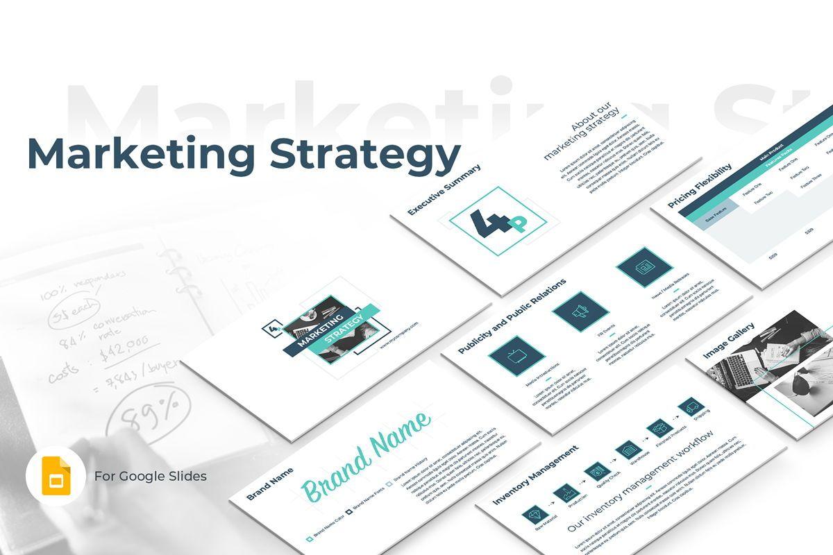 Marketing Strategy Google Slides Presentation Template, 08794, Business — PoweredTemplate.com