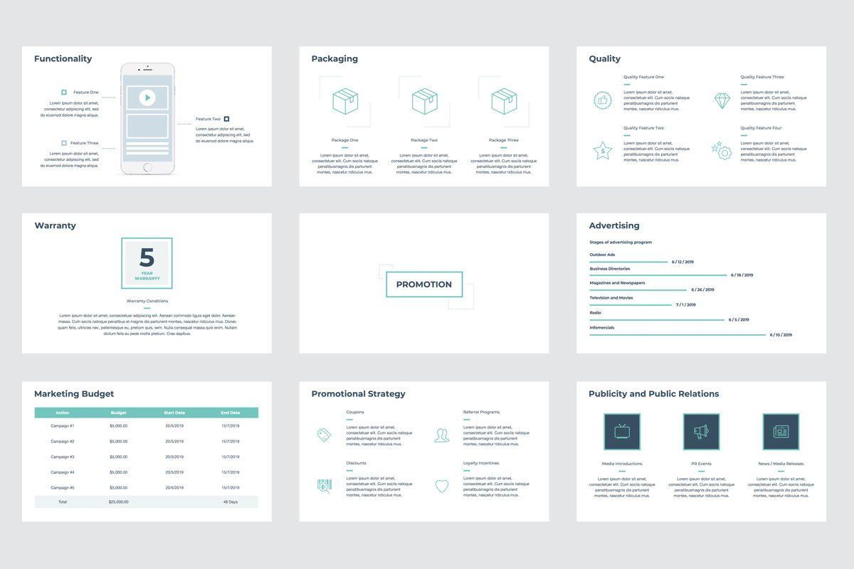Marketing Strategy Google Slides Presentation Template, Slide 3, 08794, Business — PoweredTemplate.com