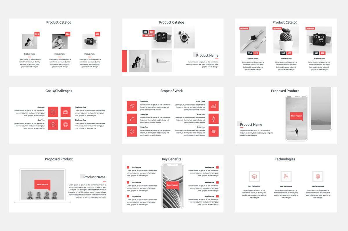 Sales Proposal Google Slides Template, Slide 3, 08796, Business — PoweredTemplate.com