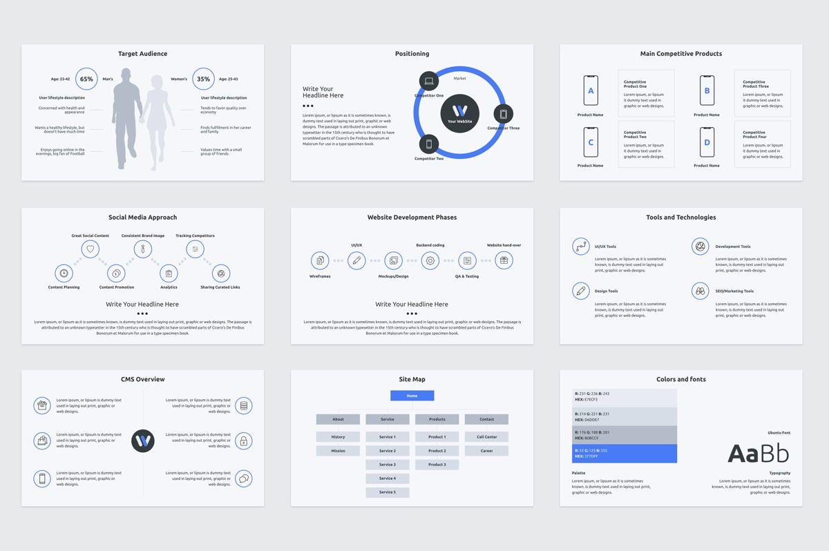 Web Design Proposal PowerPoint Presentation Template, Slide 3, 08797, Business — PoweredTemplate.com