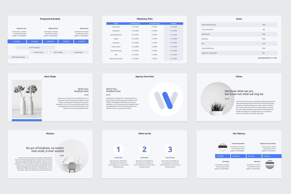 Web Design Proposal PowerPoint Presentation Template, Slide 5, 08797, Business — PoweredTemplate.com
