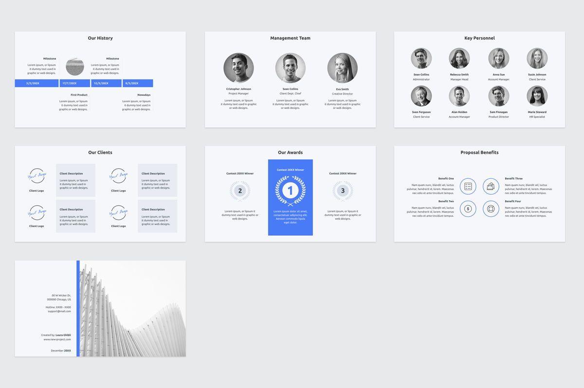 Web Design Proposal Keynote Presentation Template, Slide 6, 08798, Business — PoweredTemplate.com