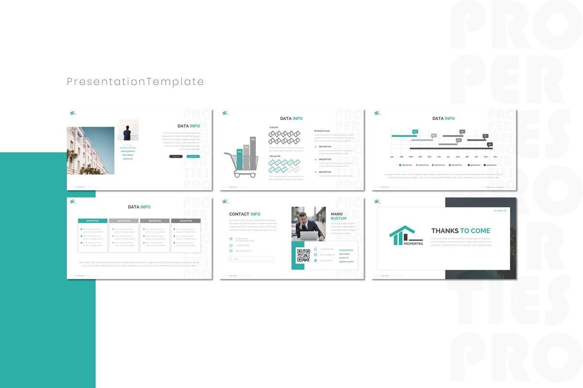 Properties - Keynote Template, Slide 4, 08803, Real Estate — PoweredTemplate.com