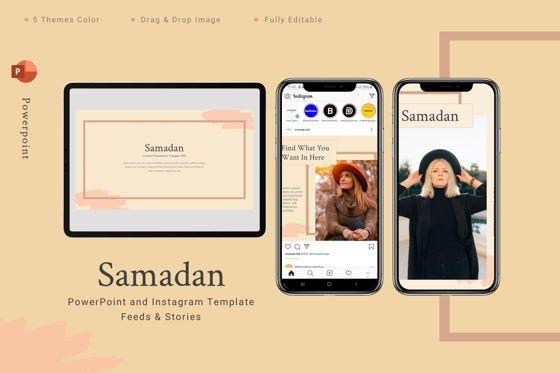 Art & Entertainment: Samadan - Powerpoint Template #08806