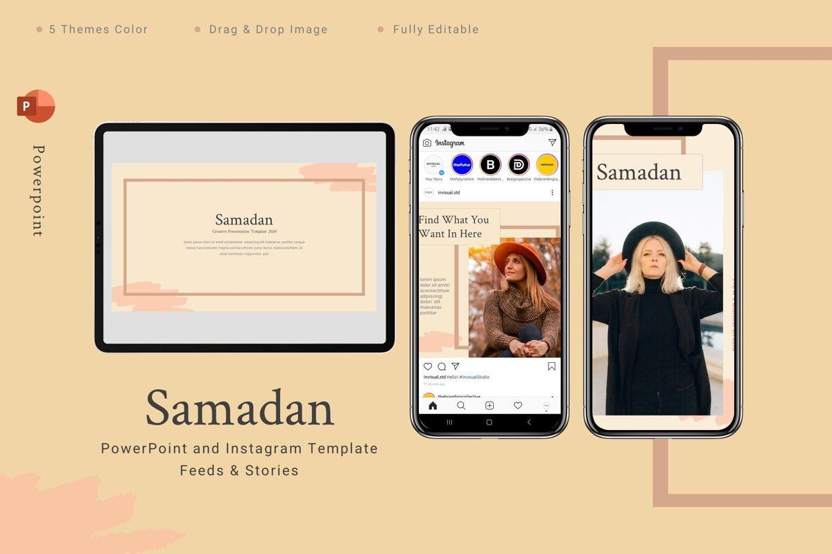 Samadan - Powerpoint Template, 08806, Art & Entertainment — PoweredTemplate.com