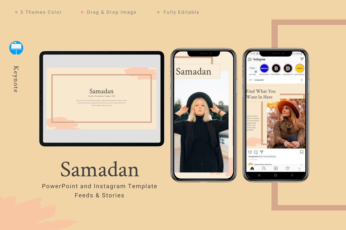 Samadan - Keynote Template, 08807, Art & Entertainment — PoweredTemplate.com