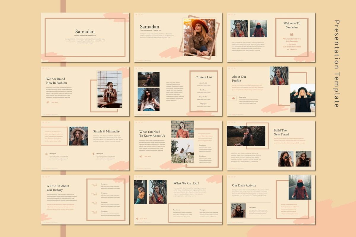 Samadan - Keynote Template, Slide 2, 08807, Art & Entertainment — PoweredTemplate.com