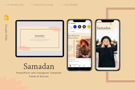 Art & Entertainment: Samadan - Google Slides Template #08808