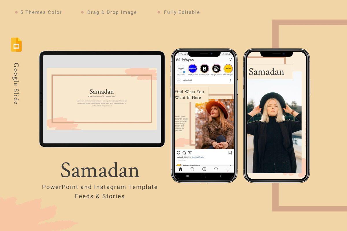 Samadan - Google Slides Template, 08808, Art & Entertainment — PoweredTemplate.com