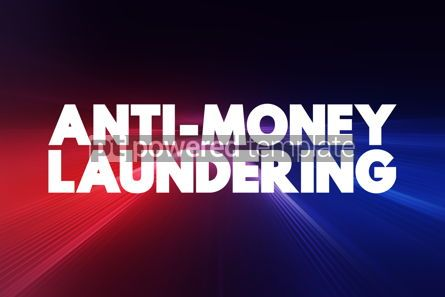 Business: Anti Money Laundering text business concept background #18407