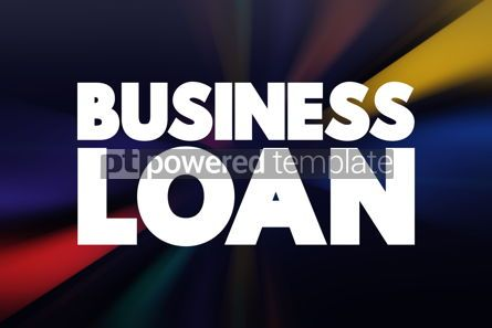 Business: Business Loan text business concept background #18409
