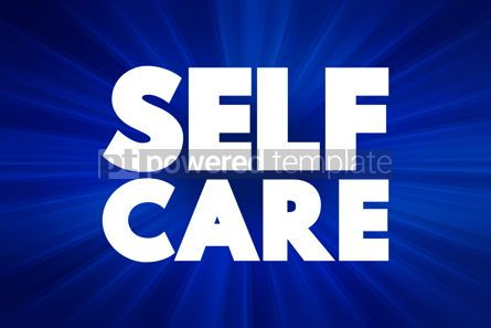 Business: Self Care text health concept background #18413