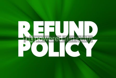 Business: Return Policy text quote concept background #18433