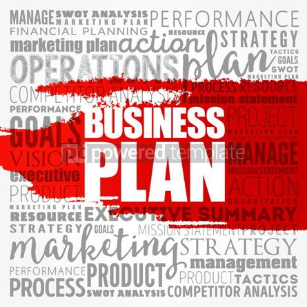 Business: Business plan word cloud collage business concept background #18488