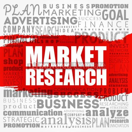 Business: Market research word cloud collage business concept background #18506