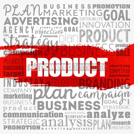 Business: PRODUCT word cloud collage business concept background #18518