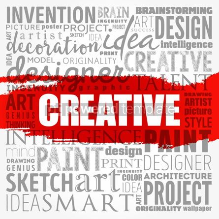 Business: CREATIVE word cloud creative business concept background #18520