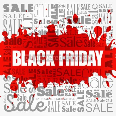 Business: Black Friday Sale words cloud business concept background #18531