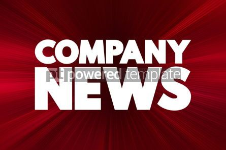 Business: Company News text quote concept background #18554