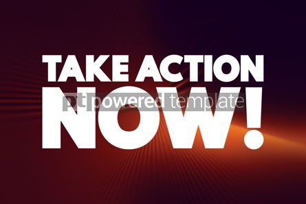 Business: Take Action Now text quote concept background #18557