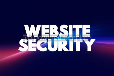 Business: Website Security text quote concept background #18569