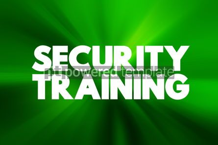 Business: Security Training text quote concept background #18586