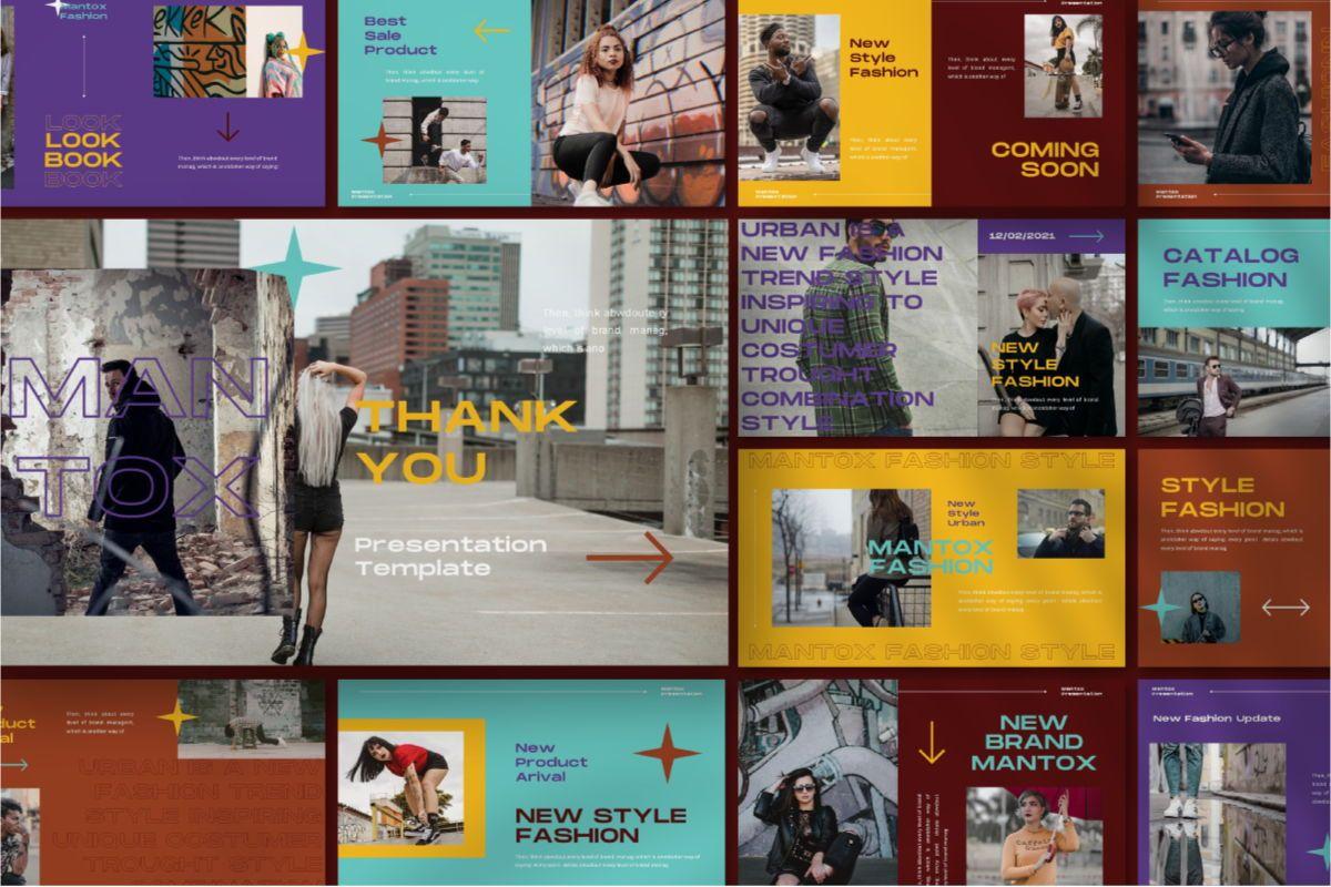 MANTOX Powerpoint Template, Slide 10, 08838, Business — PoweredTemplate.com