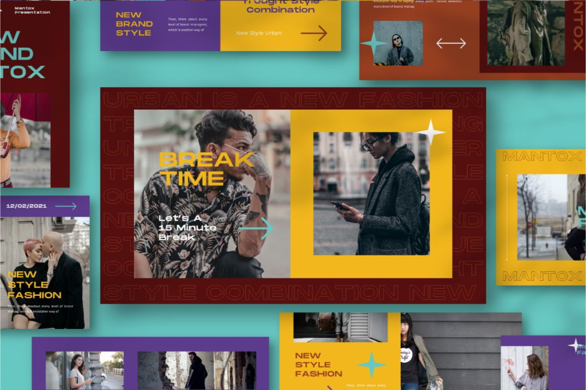 MANTOX Powerpoint Template, Slide 2, 08838, Business — PoweredTemplate.com
