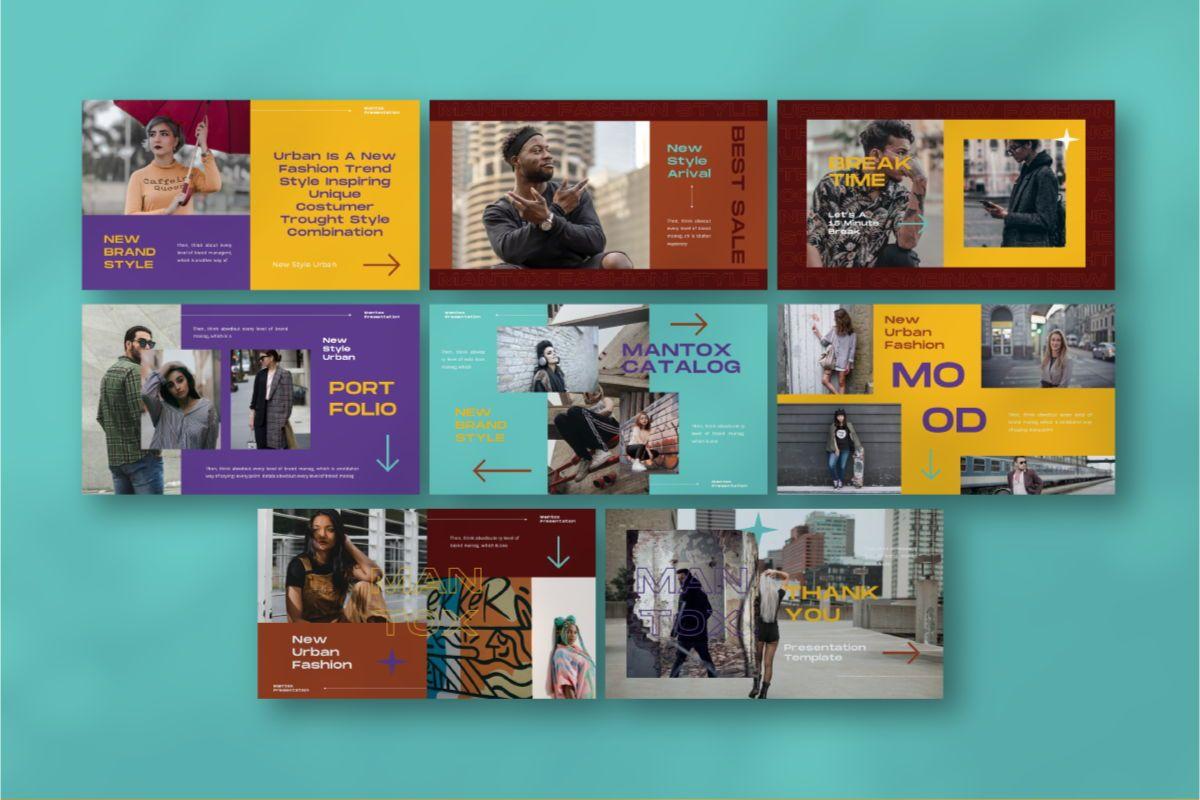 MANTOX Powerpoint Template, Slide 7, 08838, Business — PoweredTemplate.com