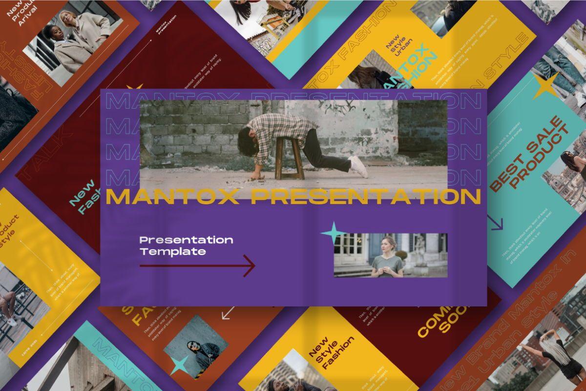 MANTOX Keynote Template, 08839, Business — PoweredTemplate.com