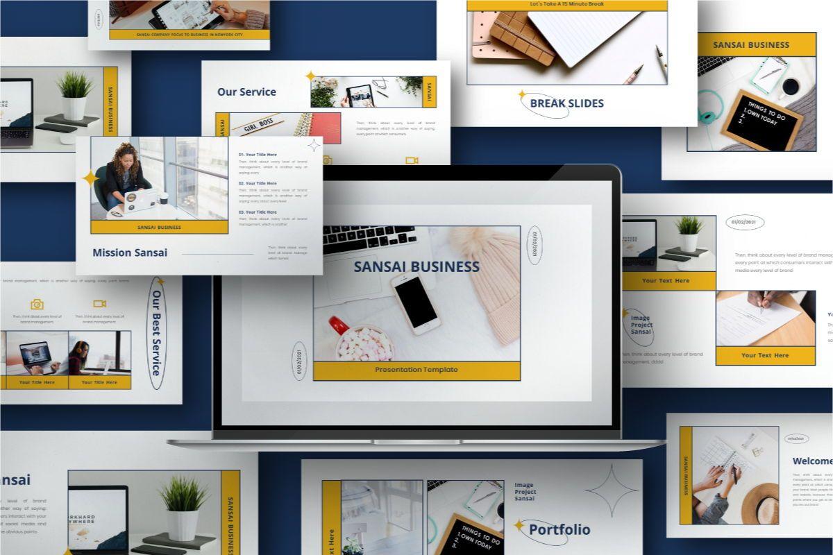 SANSAI Business Powerpoint Template, 08843, Business — PoweredTemplate.com