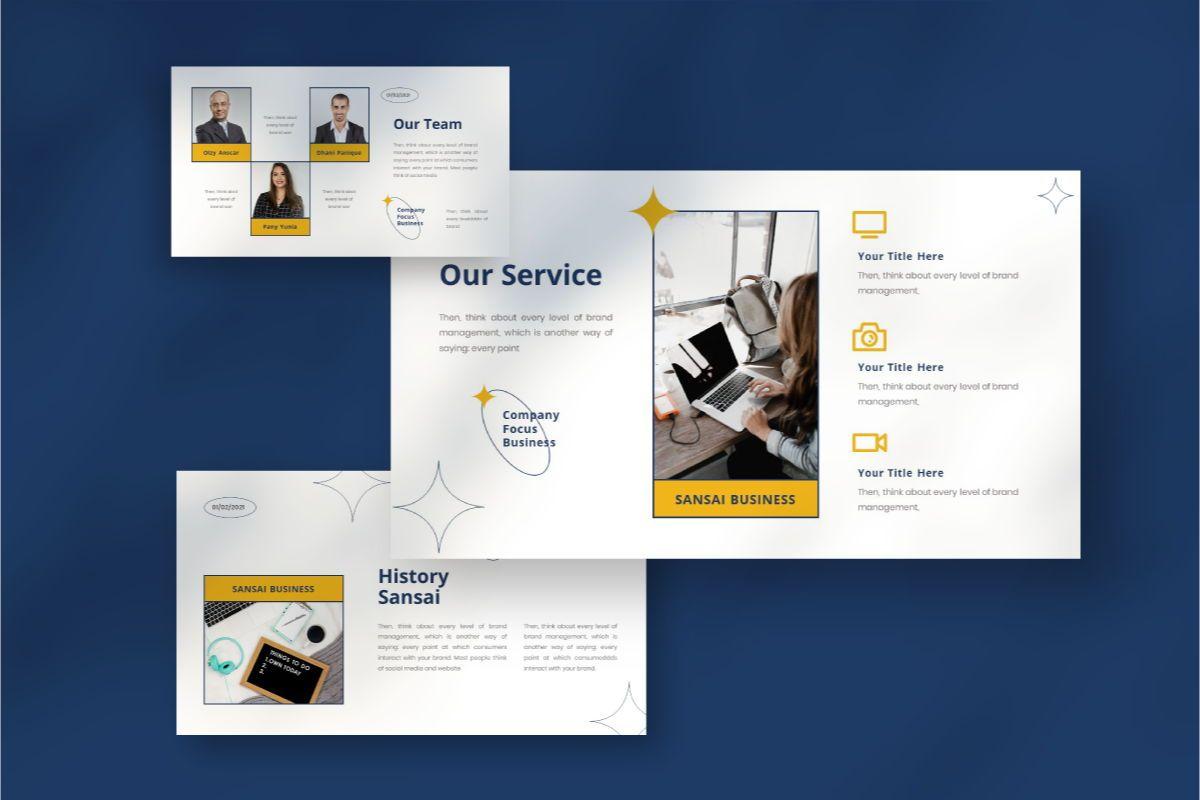SANSAI Business Powerpoint Template, Slide 3, 08843, Business — PoweredTemplate.com