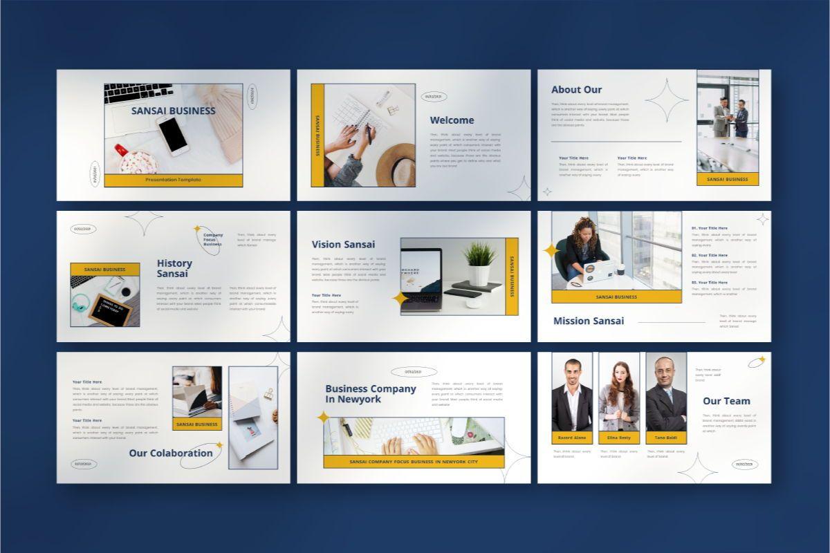SANSAI Business Powerpoint Template, Slide 4, 08843, Business — PoweredTemplate.com