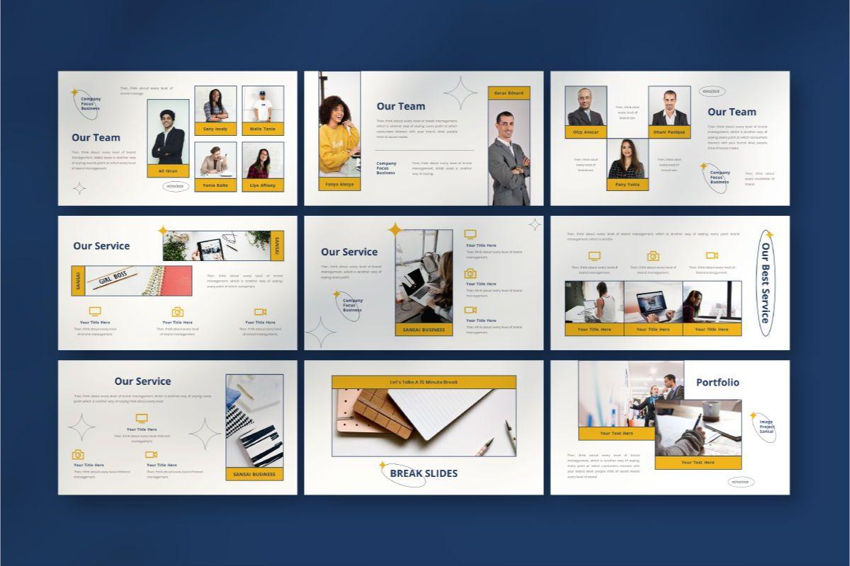 SANSAI Business Powerpoint Template, Slide 5, 08843, Business — PoweredTemplate.com