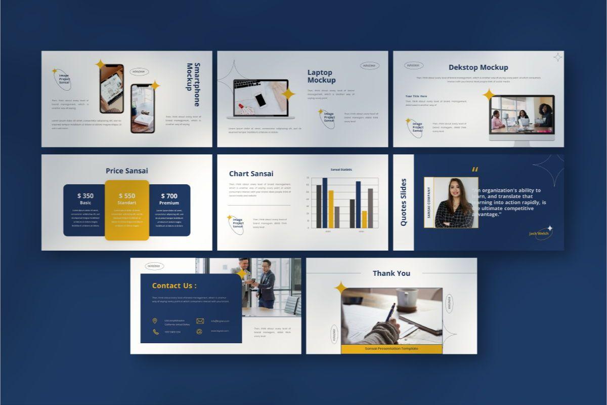 SANSAI Business Powerpoint Template, Slide 7, 08843, Business — PoweredTemplate.com