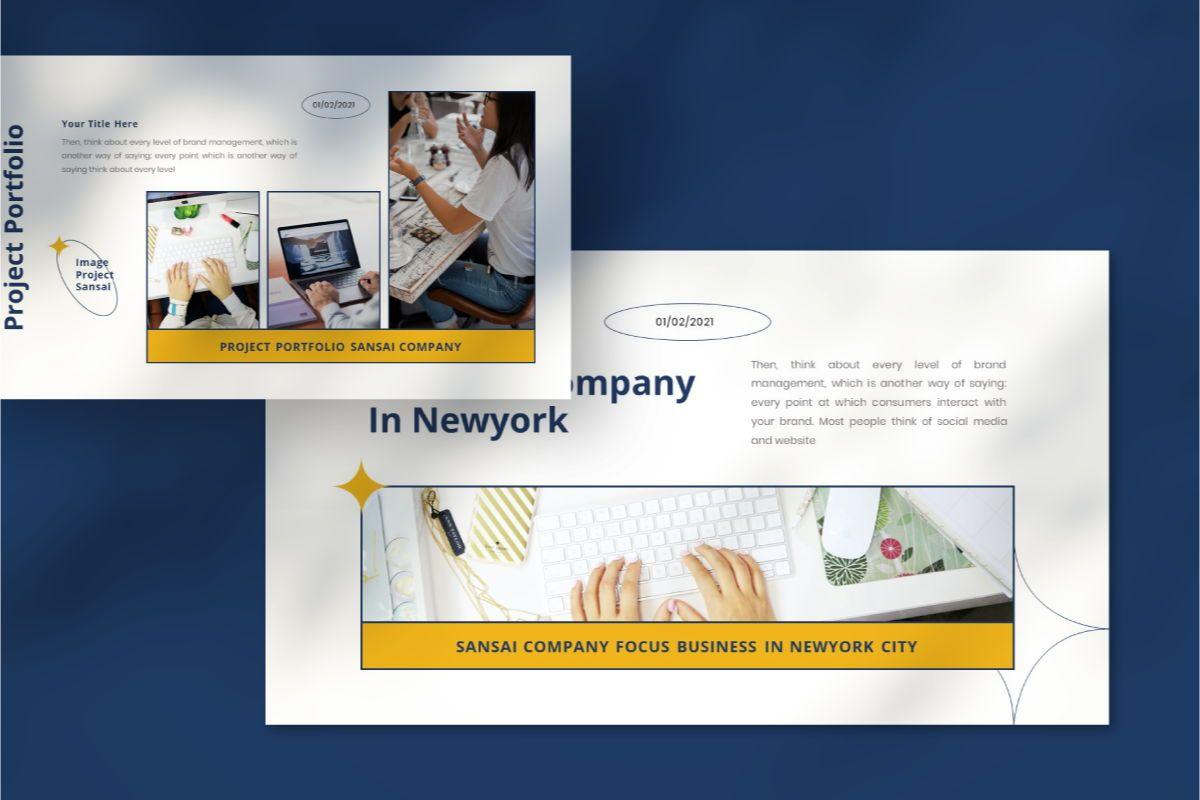 SANSAI Business Powerpoint Template, Slide 8, 08843, Business — PoweredTemplate.com