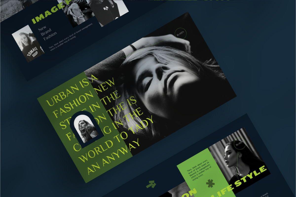 BLAEEN - Brand Powerpoint Template, Slide 2, 08844, Business — PoweredTemplate.com
