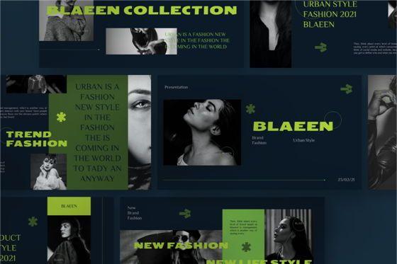 Business: BLAEEN - Brand Google Slide Template #08845