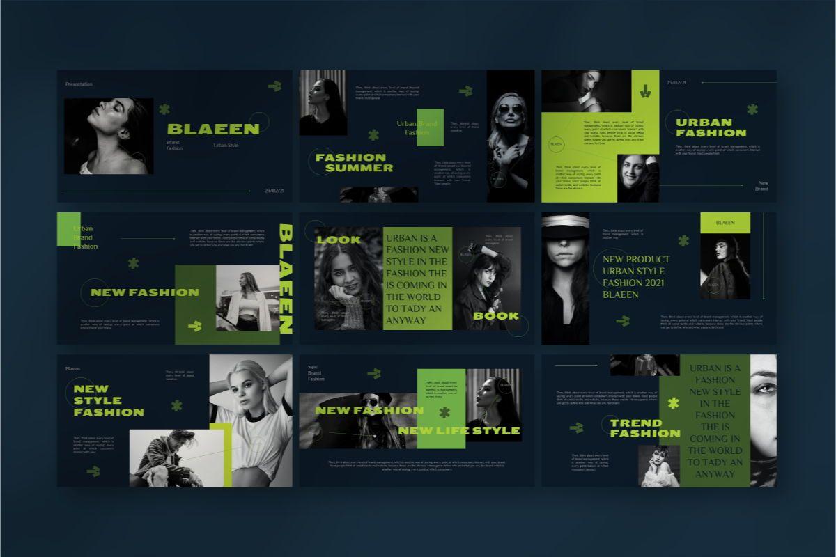 BLAEEN - Brand Google Slide Template, Slide 4, 08845, Business — PoweredTemplate.com